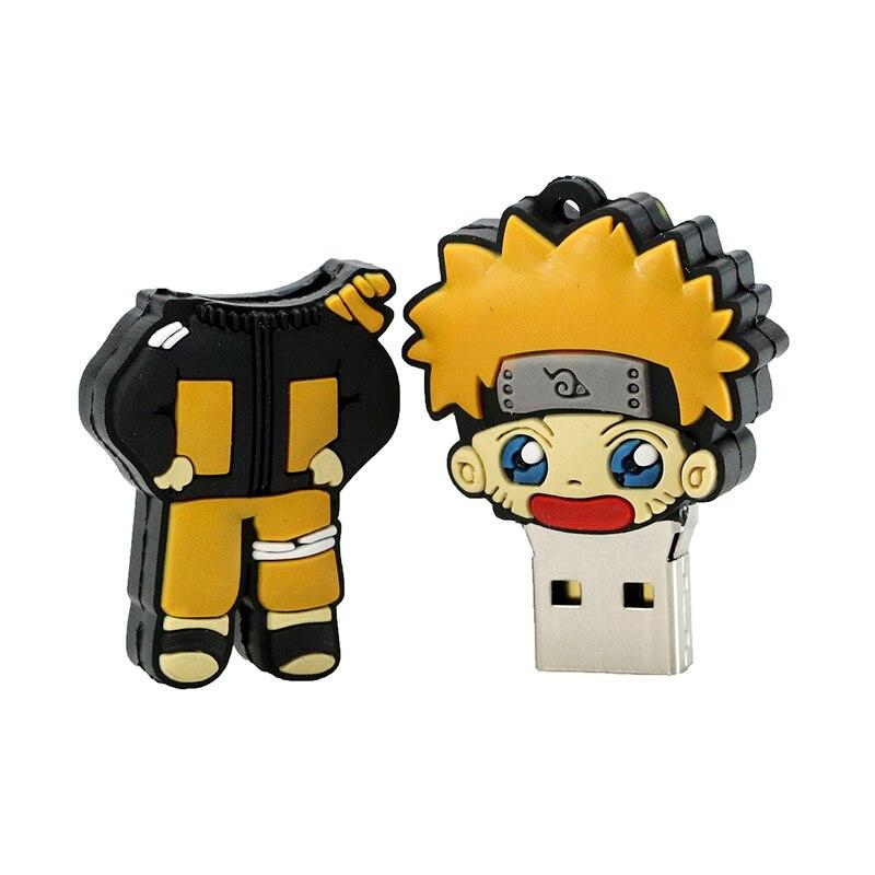 Civetman® USB Flash Drive Cartoon Naruto Sasuke Ninja Pen Drive