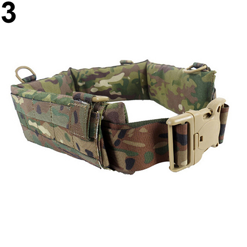 Multifunctional Nylon Belly Band Pad Soft Battle Belt With Waist Mag Pouch