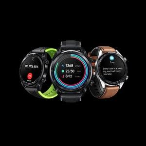 Image 4 - Huawei Watch GT สมาร์ทนาฬิกาสนับสนุน GPS 14 วันอายุการใช้งานแบตเตอรี่ 5 ATM กันน้ำโทรศัพท์ Heart Rate Tracker สำหรับ Android IOS