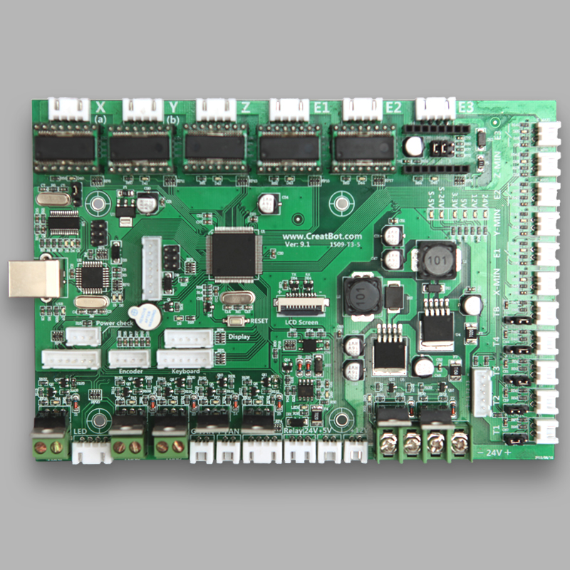 3d printer control board/ Controller CreatBot Large 3D Printer Accessories/ Parts for sale DIY Free Shipping brand new inkjet printer spare parts konica 512 head board carriage board for sale