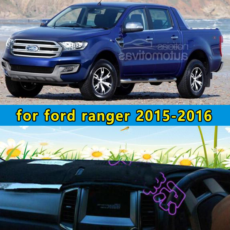 car dashmats car styling accessories dashboard cover for ford ranger 2015 2016china