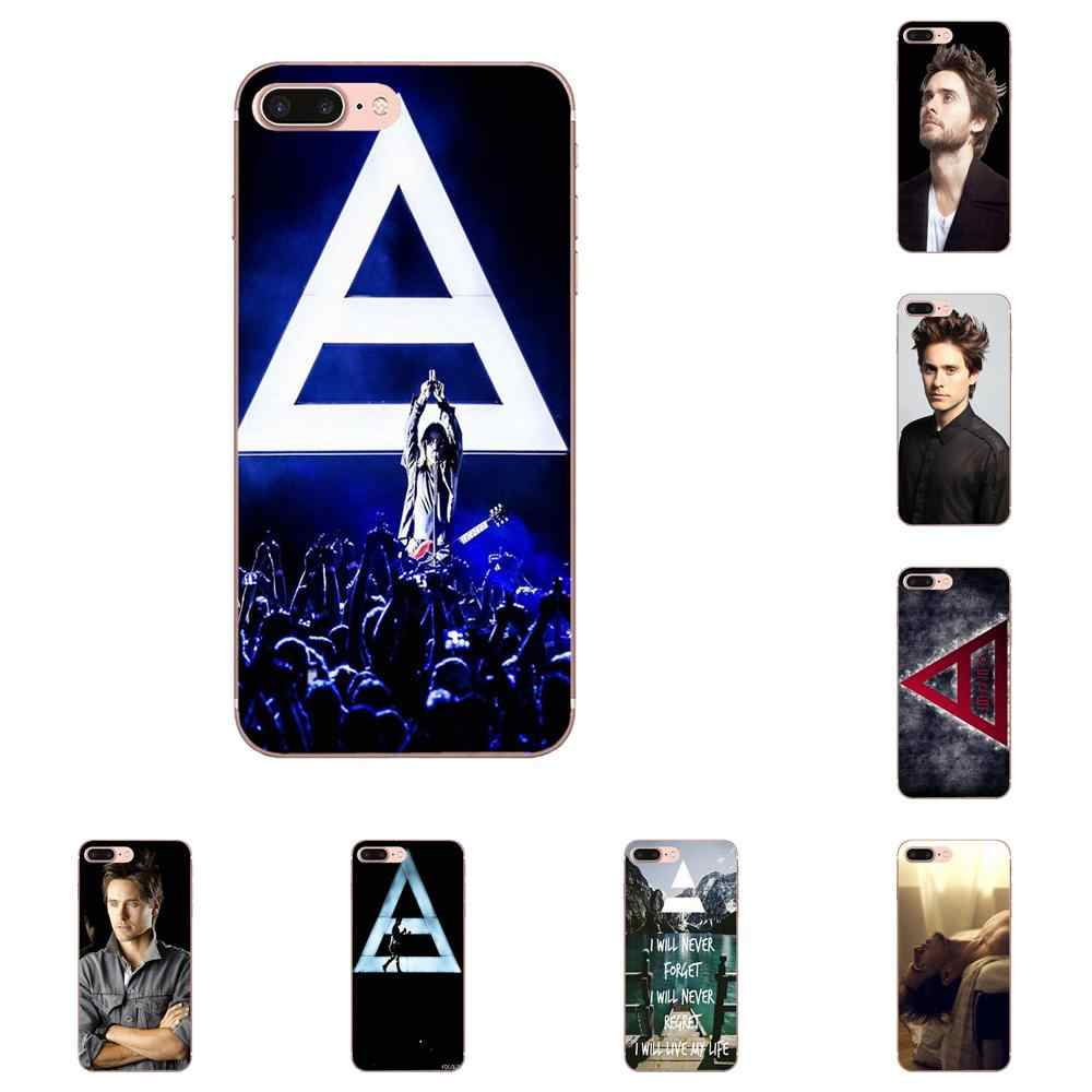 Seconds To Mars Jared Leto 30 4 Para Samsung Nota Galáxia 5 8 9 S3 S4 S5 S6 S7 S8 s9 S10 mini Borda Mais Lite Tpu Casos Covers