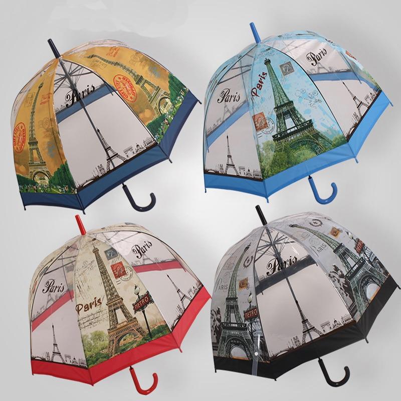 woman umbrella 2016 creative fresh poe transparent parasol mushroom arch umbrella child long. Black Bedroom Furniture Sets. Home Design Ideas