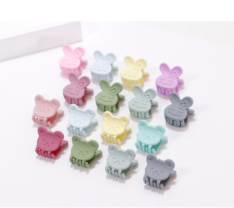 HTB1xaFhNVXXXXbpXpXXq6xXFXXXL Pretty 10-Pieces Girls Fashion Candy Color Hair Clip Claw Accessories - 3 Styles