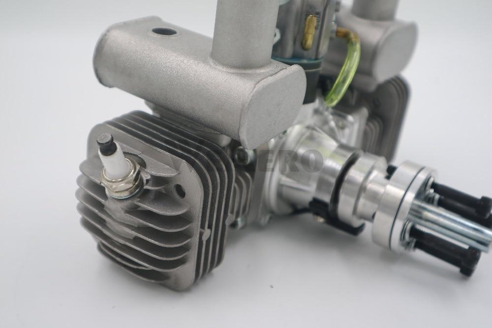 Nowy przyjazd! RCGF 50cc z podwójnym cylindrem benzyna/silnik benzynowy dla RC samolot w Części i akcesoria od Zabawki i hobby na  Grupa 3