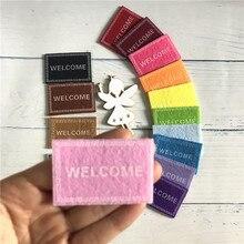9 цветов, ручная работа, сказочный дверной коврик, отличный подарок для ребенка, миниатюрная игра, волшебный зуб, сказочный дверной аксессуар, 4 см* 6 см
