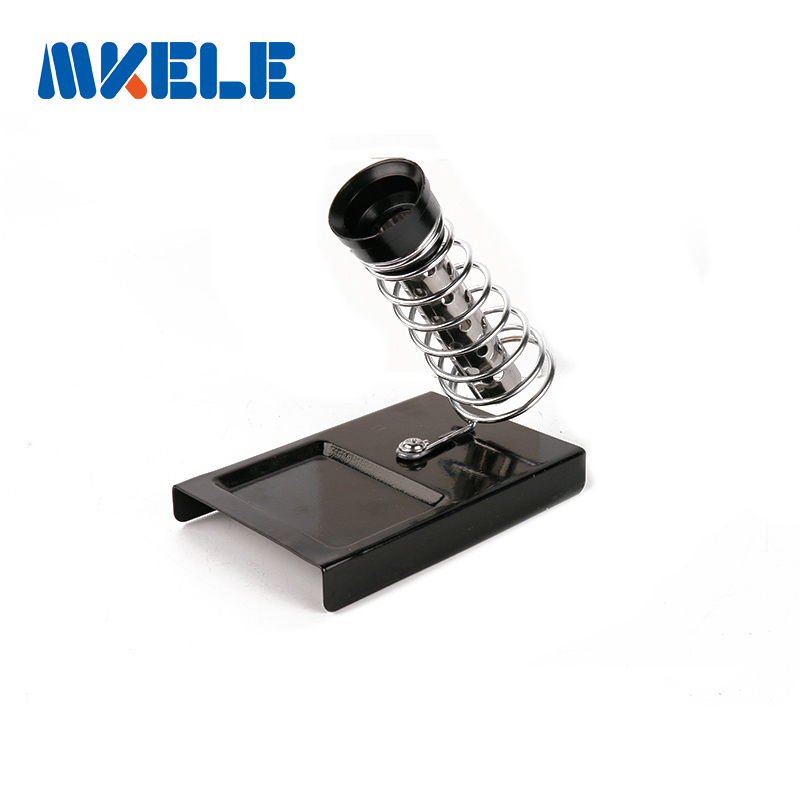 Soldering Iron Support C-4 Stand Holder Base Metal Rectangle Solder Support Station Soldering Iron Safety Protecting Base