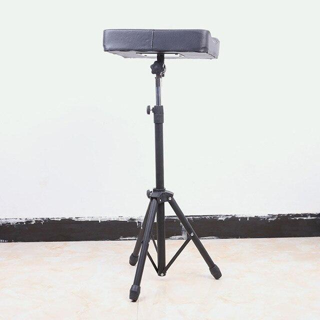 US $125.0 |Tattoo Studio Equipment 1PCS Black Tattoo Chair Arm Tripod Rest  Bracket Leg Stand Full Adjustable Armrest Kit-in Tattoo accesories from ...