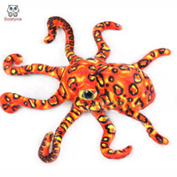 BOLAFYNIA Children Plush Stuffed Toy Octopus Sea Animal Three Colors Baby Kids Toy For Christmas Birthday