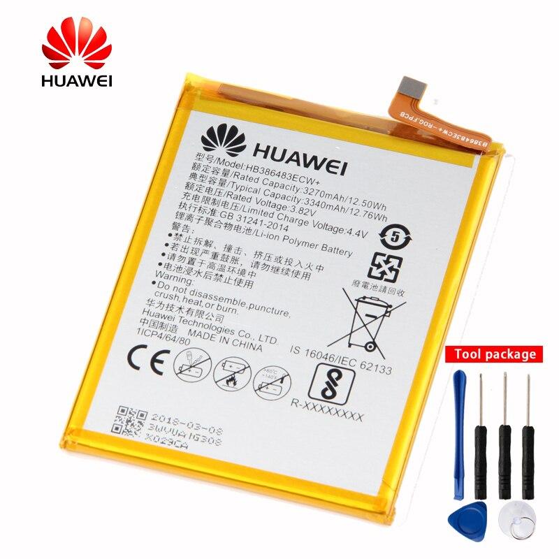 Original Huawei telefon Batterie für Huawei honor 6X MLA-AL00 MLA-AL10 G9 plus G9Plus Maimang 5 HB386483ECW