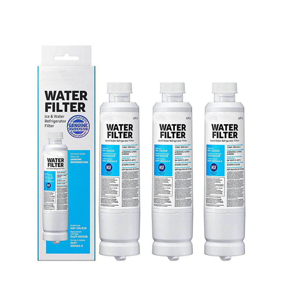 Best Selling Refrigerator Carbon Filter Water Purifier Replacement For Samsung Genuine Water Da29 - 00020b 3 Pcs. / Lot