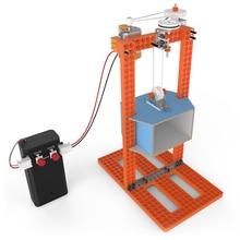 DIY стебель игрушки для детей физический научный эксперимент творчество обучение обучающая игрушка DIY Лифт подарок