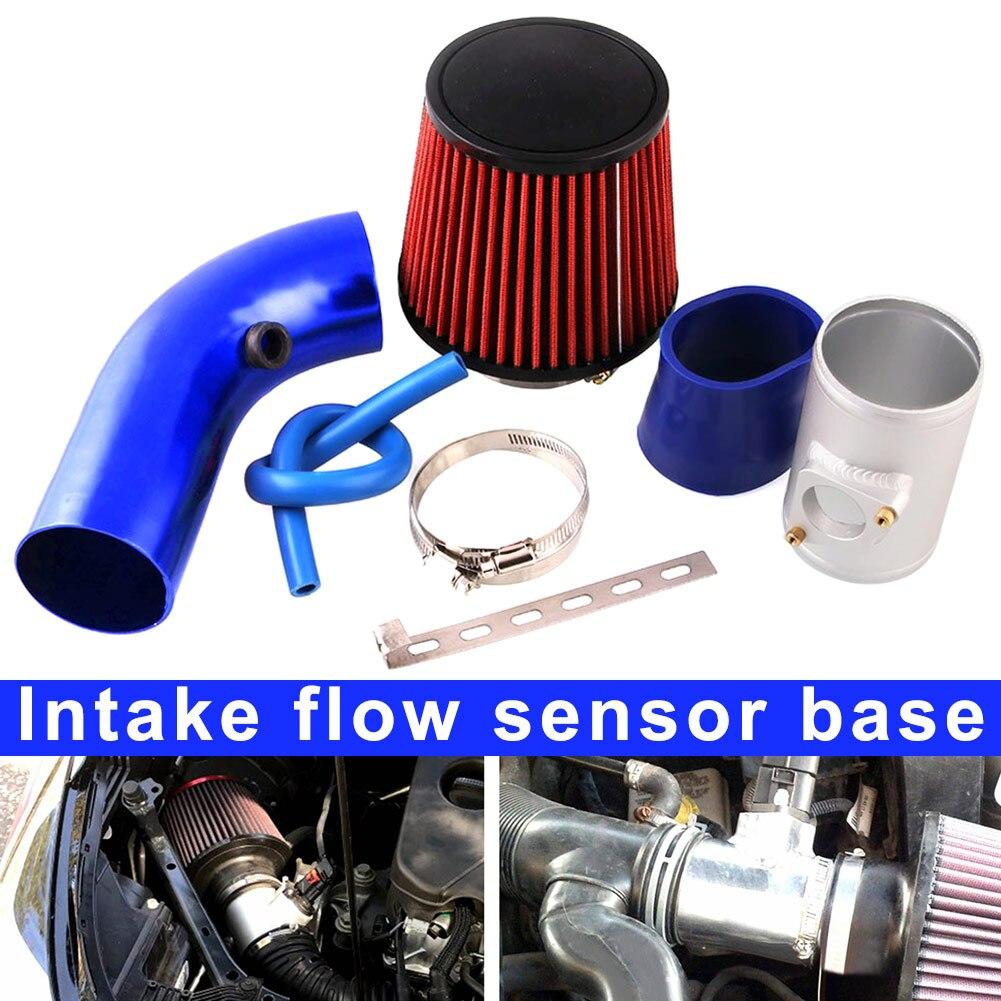Nouveau 1 Kit de Base de filtre de capteur de pression de débit d'admission 76mm en alliage d'aluminium pour Honda Toyota