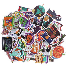 100Pcs Halloween schedel pompoen cool DIY plakboek koffer laptop gitaar sticker(China)