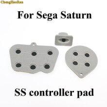 ChengHaoRan 2 10 sets Reparatur teile für Sega Saturn SS Controller Leitfähigen Gummi Pad Taste Starten Key Pads Taste