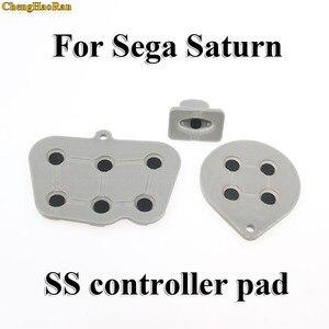 Image 1 - Chenghaoran 2 10 세가 토성 ss 컨트롤러에 대한 수리 부품 세트 전도성 고무 패드 버튼 시작 키 패드 버튼
