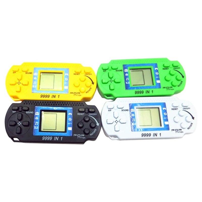 Kids Classical LCD Electronic Gaming Machine Handheld Tetris Brick Game Console
