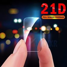 2PC 21D Back Camera Protective Glass For Samsung Galaxy S9 Plus S8 S10 A 20 30 40 50 J4 J6 J7 J8 Screen Protector Film HD Film(China)