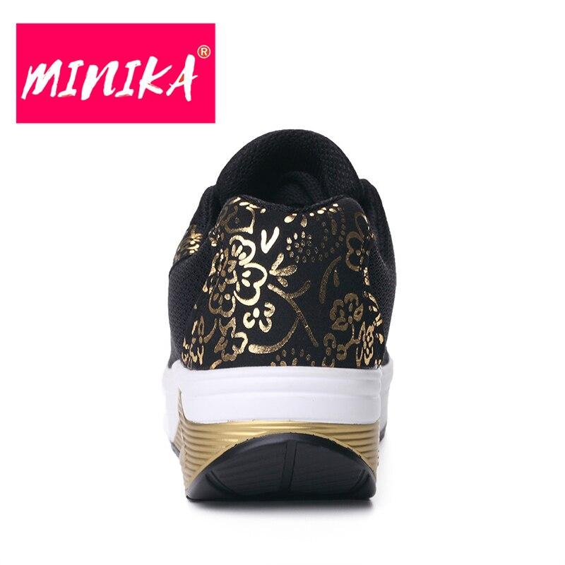 MINIKA New Brand Women Flats Schoenen Fashion Bronzing Women Duurzame - Damesschoenen - Foto 4