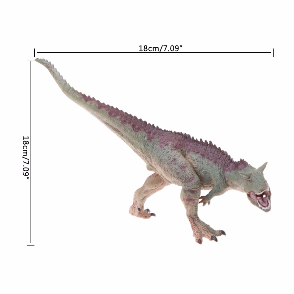 1PC Carnotaurus Dinosaur Action Figure Toys Hand Puppet Kids Educational Model #HC6U# Drop shipping 1pc saichania dinosaur action figure toys hand puppet kids educational model 28 319