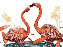 5D Diy Diamond Painting Full Square Flamingos Decoration Home Decoration Diamond  Mosaic Custom Photo and Drop Shipping 5d diy diamond painting full square flamingos decoration home decoration diamond mosaic custom photo and drop shipping