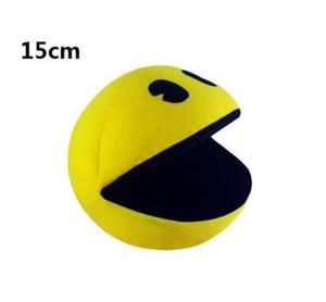 Чучела Pacman, фильм пиксели, 1 шт., кукла и человек Pac-Man, плюшевая игрушка со смайликом Q bert, подарки на Рождество