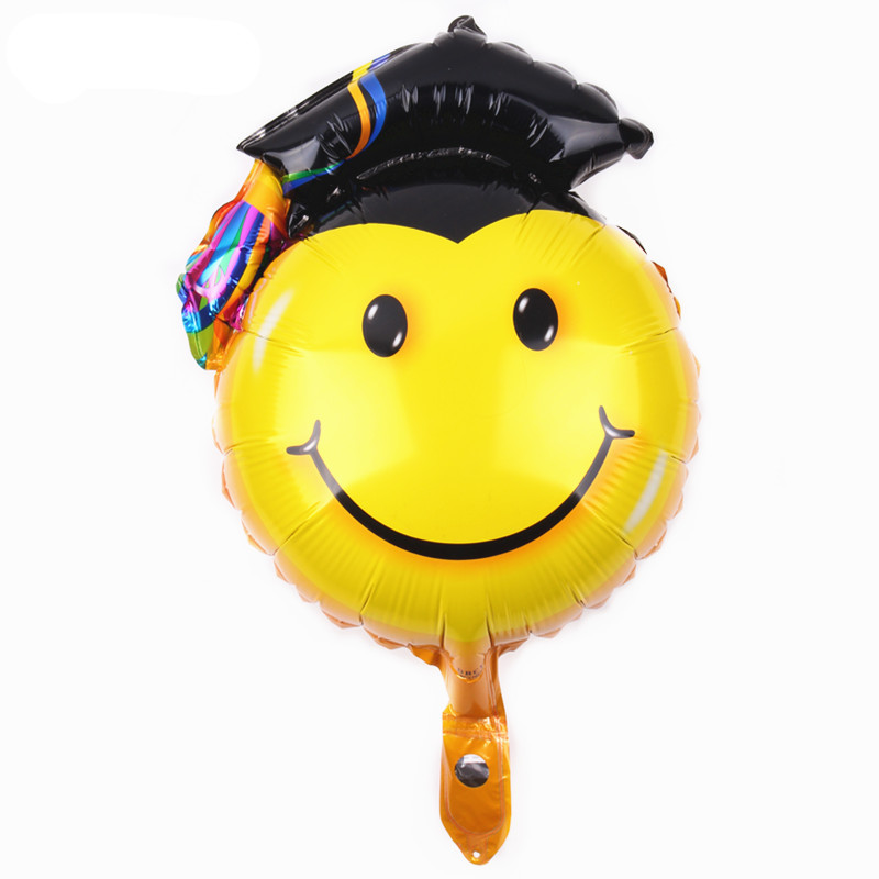 TSZWJ B-064 New 1pcs Mini Smile Doctor Aluminum Balloon Childrens Toys Party Birthday Decorative Balloon Wholesale