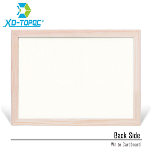 Image 3 - 30*40cm Whiteboard Dry Erase Magnetic Board Drawing Bulletin White Boards Wood Frame Erased Easily Repeated Factory Supplier