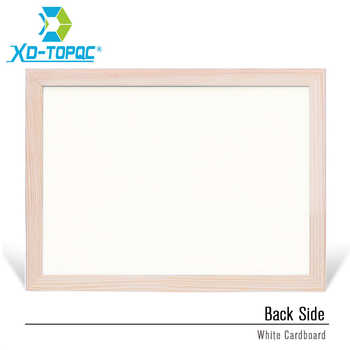 30*40cm Whiteboard Dry Erase Magnetic Board Drawing Bulletin White Boards Wood Frame Erased Easily Repeated Factory Supplier