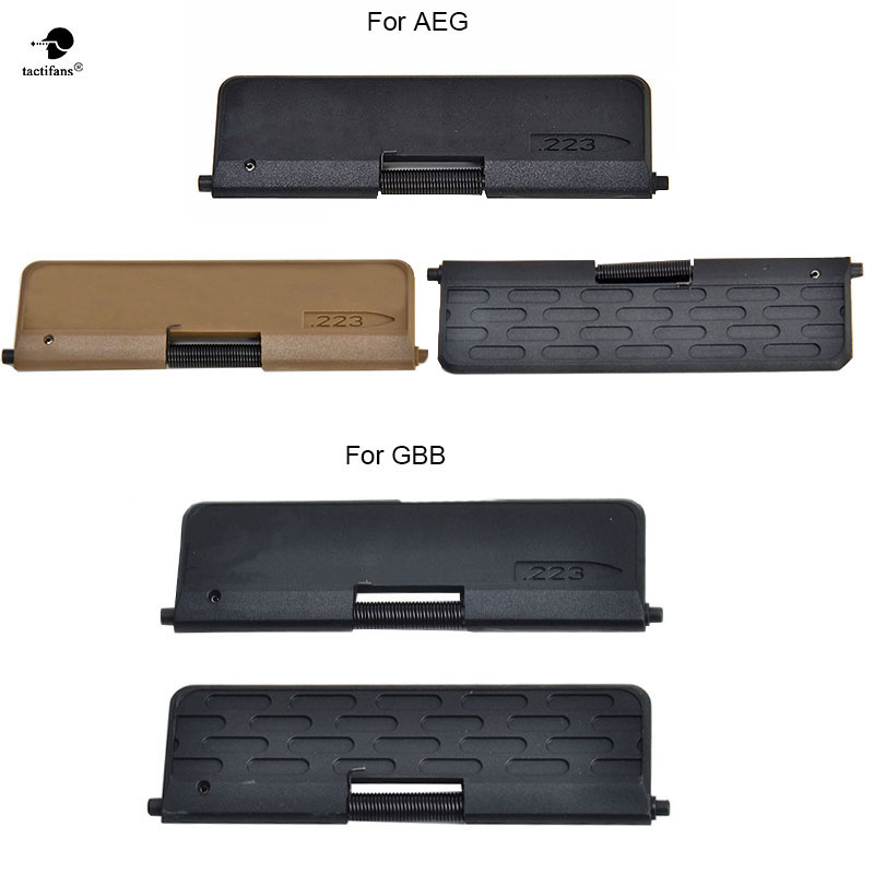 Tactifans Enhanced Ultimate Polymer Dust cover .223-Capsule for AEG/GBB Airsoft TOY AR-15/M16/M4 Standard Two type NOT REAL AR15