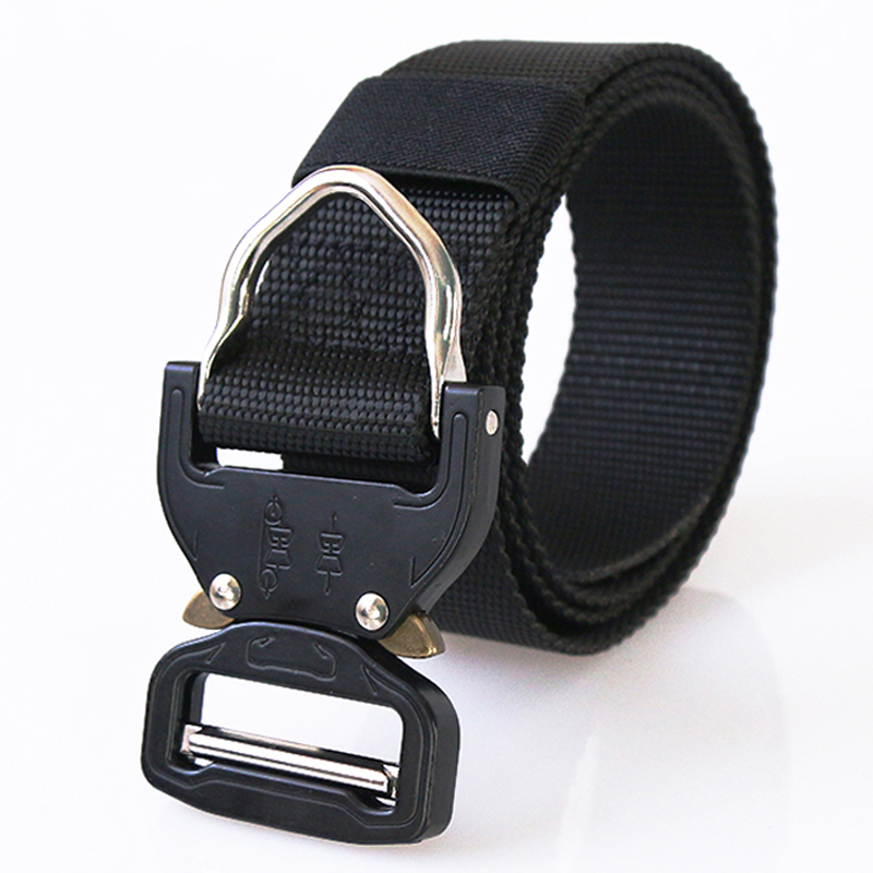 US Army SWAT Combat Tactical Belt Mens Military Belts Army Thicken Nylon Zinc Alloy Buckle Molle Carry Survival Waist Belt