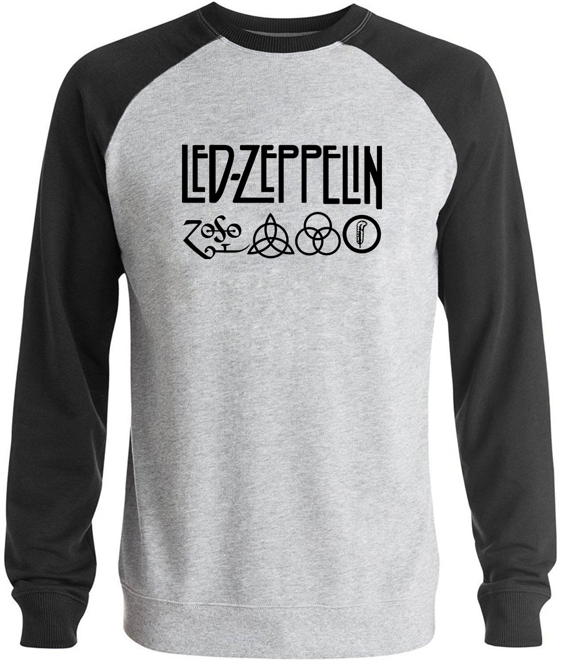 Rock And Roll Led Zeppelin Rock Zoso Fleece Hoodies Heavy Metal Band Fan Punk Hoody Sweatshirts Pullover Hooded K-pop Tracksuits Men's Clothing