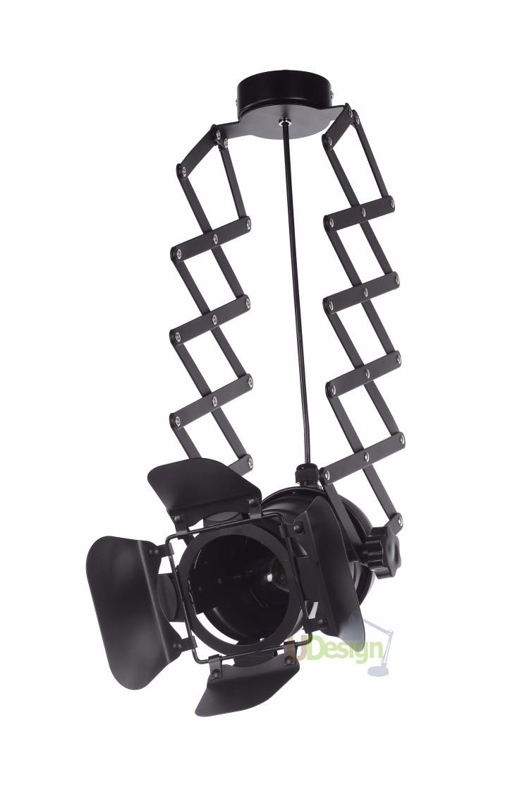 free shipping Designer loft vintage industrial lighting foldable lamp pendant lamp 4