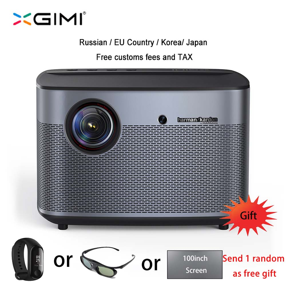 XGIMI H2 DLP Projector Full HD 1080P 1350 Ansi 3D Support 4K Video Projecteur Android Wifi Home Theater Beamer XGIMI H1 Upgrade(China)