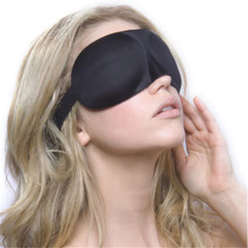 2PCS Soft 3D Night Eye Mask Eyeshades Travel Sleeping Blindfold Cover Travel Sleeping Blind Pack Better Rest Eyeshade Seamless