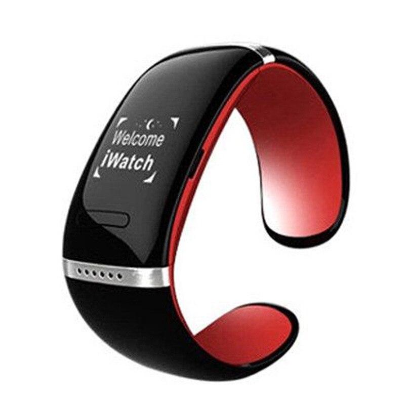 2016 New Original L12S Smart Watch Design OLED Bluetooth 3 0 Watch Bracelet font b SmartWatch