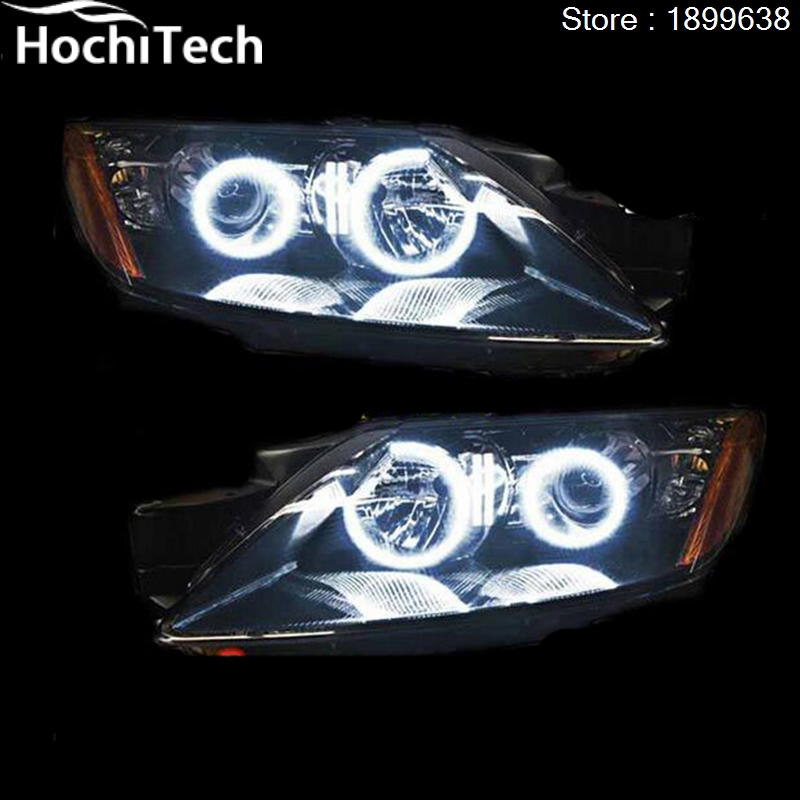 Pour Mazda cx-7 cx 7 2006-2012 RGB phare LED anneaux halo ange démon yeux avec télécommande