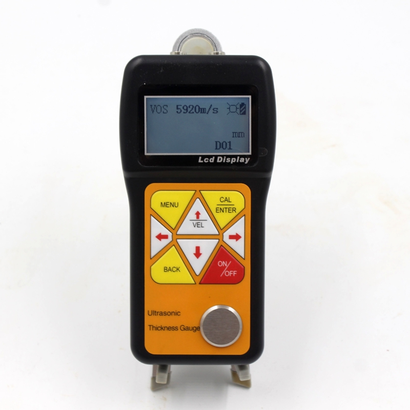 Image 2 - Ultrasonic Thickness Gauge 0.75~600mm Portable Digital LCD Sheet Metal Pipes Glass Thickness Tester Sound Velocity Meter JT160Width Measuring Instruments   -