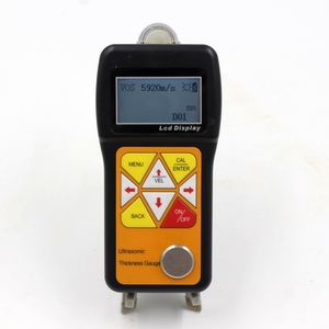 Image 2 - Ultrasonic Thickness Gauge 0.75~600mm Portable Digital LCD Sheet Metal Pipes Glass Thickness Tester Sound Velocity Meter JT160