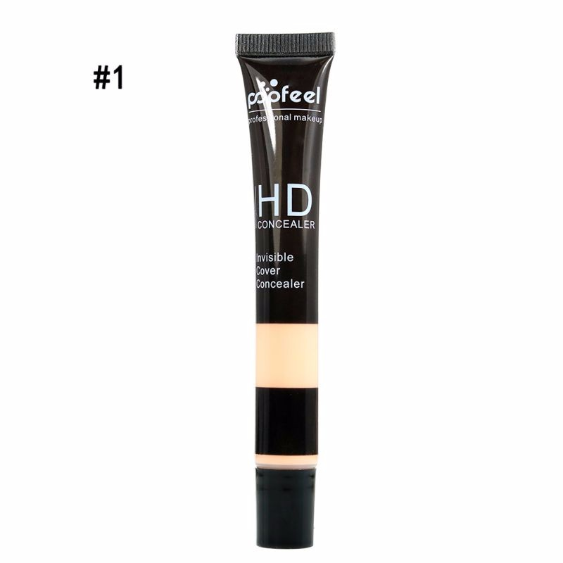 1pc Pro Makeup High Definition Invisible Cover Concealer Skin Cream 5 Colors Face Maquiagem Base Contour Foundation Skin Beauty