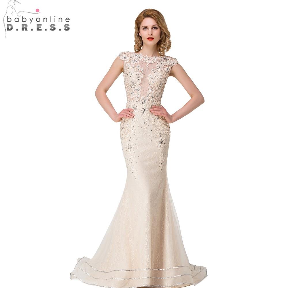 Champagne Color Wedding Dresses Vestidos De Noiva 2017: Aliexpress.com : Buy Babyonline Cap Sleeves Light
