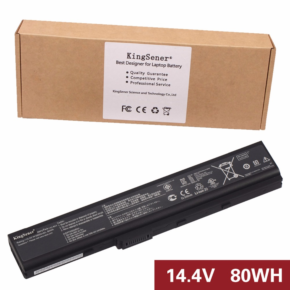 ФОТО Japan Cell Original New A41-B53 Laptop Battery for ASUS B53 B53E B53F B53J A31-B53 A42-B53 8CELLS 14.4V 5600mAh