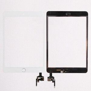 Image 3 - 10 teile/los Gute Qualität Für iPad mini 1/2 mini 3 Touch Screen Panel Mit Home Button + IC Stecker