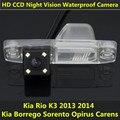 Para Hyundai Tucson Veracruz Kia Rio K3 2013 2014 Borrego Sorento Carens Opirus Visão CCD Noite de Backup Visão Traseira Do Carro câmera
