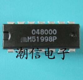 Free shipping    new%100       new%100     M51998P  DIP-14