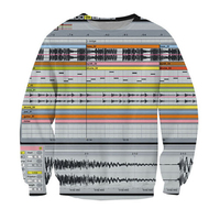 New Mens/Womens favorite among music production software 3D Print Sweatshirt S M L XL XXL 3XL 4XL 5XL