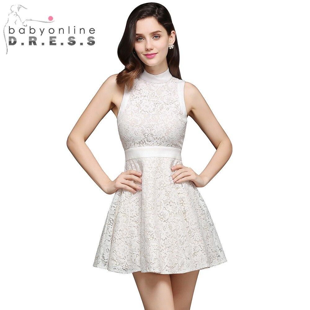 Popular Short White Dress for Teens-Buy Cheap Short White Dress ...