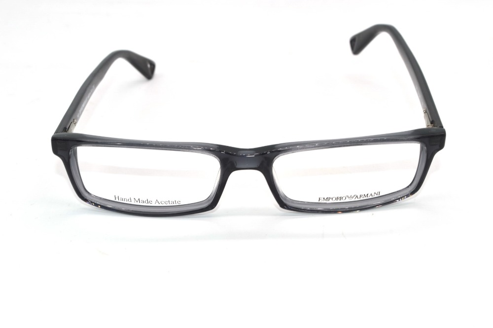 Handmade Optical Rim Acetate Frames narrow Black Gradient Custom ...