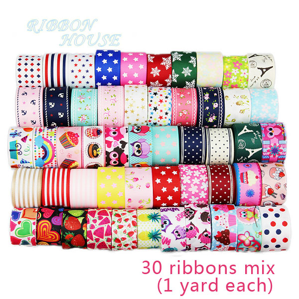 30 ribbons mix