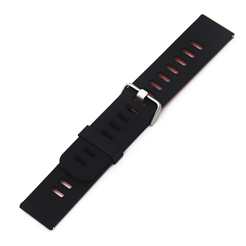 Silicone Rubber Watch Band 22mm for Breitling Watchband Strap Wrist Loop Belt Bracelet Black Blue Red + Tool + Spring Bar | Watchbands